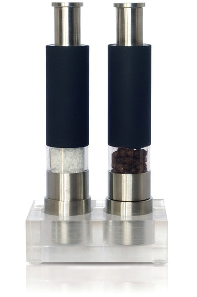 Reflex Black Salt and Pepper Grinder Set
