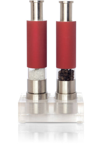 Reflex Red Salt and Pepper Grinder Set