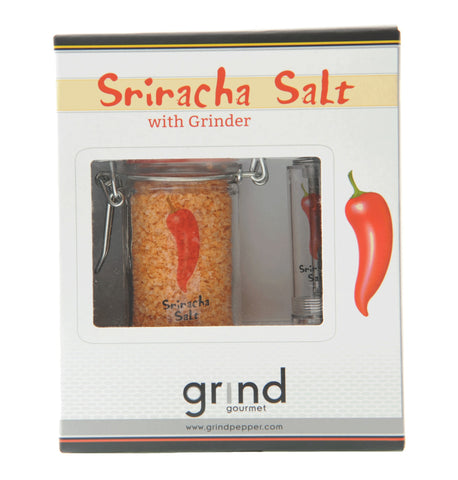 Sriracha Salt and Pump & Grind Grinder Set
