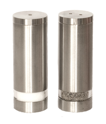 Savoy Stainless Salt and Pepper Shakers