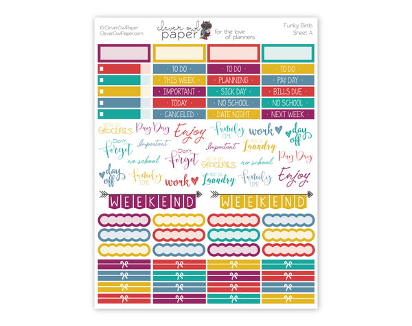 Bible Tabs | Cool Tones - Clever Owl Paper, Planner Stickers, Erin Condren Stickers, Erin Condren Planner Stickers, Erin Condren, Planner Accessories, Stickers for Planners