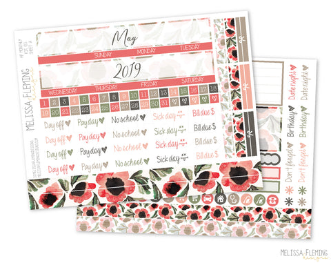 HP Secret Garden Monthly Sticker Kit - 103