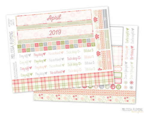 HP Monthly Sticker Kit - 108