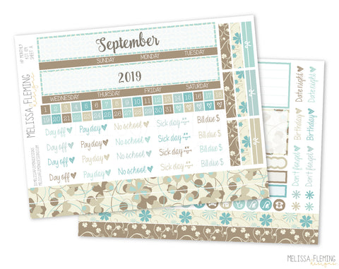HP Monthly Sticker Kit - 109