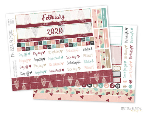HP Monthly Sticker Kit - 110