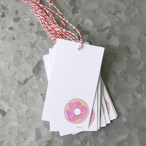 Donut Gift Tag Set