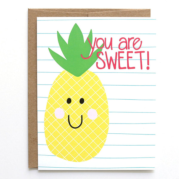 You Are Sweet - Card