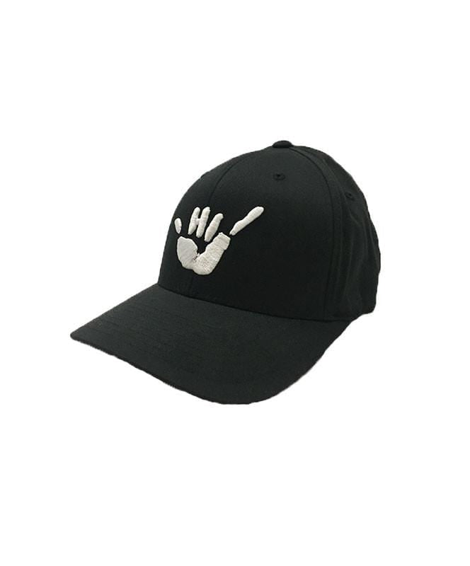 hawaii-domestic-market-hats-black-s-m-hawaii-domestic-market-flexfit-hat-hdm-shaka-front