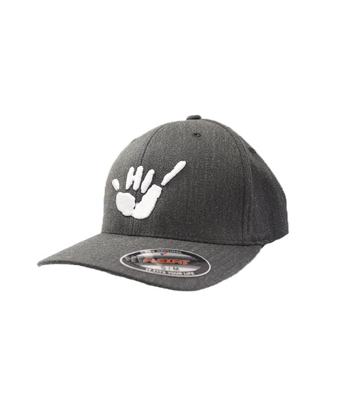 hawaii-domestic-market-hats-dark-grey-heather-s-m-hawaii-domestic-market-flexfit-hat-hdm-shaka-front