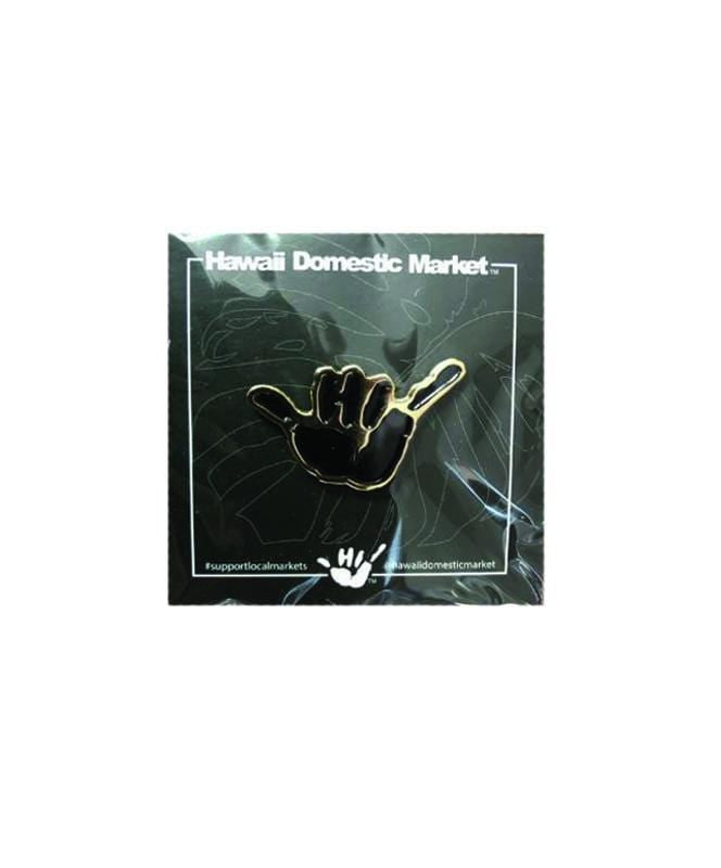 hawaii-domestic-market-home-goods-black-one-size-hawaii-domestic-market-pin-hdm-shaka-front