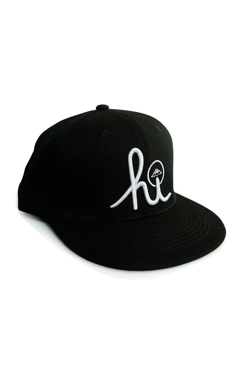 In4mation Hats Black / One Size In4mation Snapback Hat - IN4M x ISH HI Script