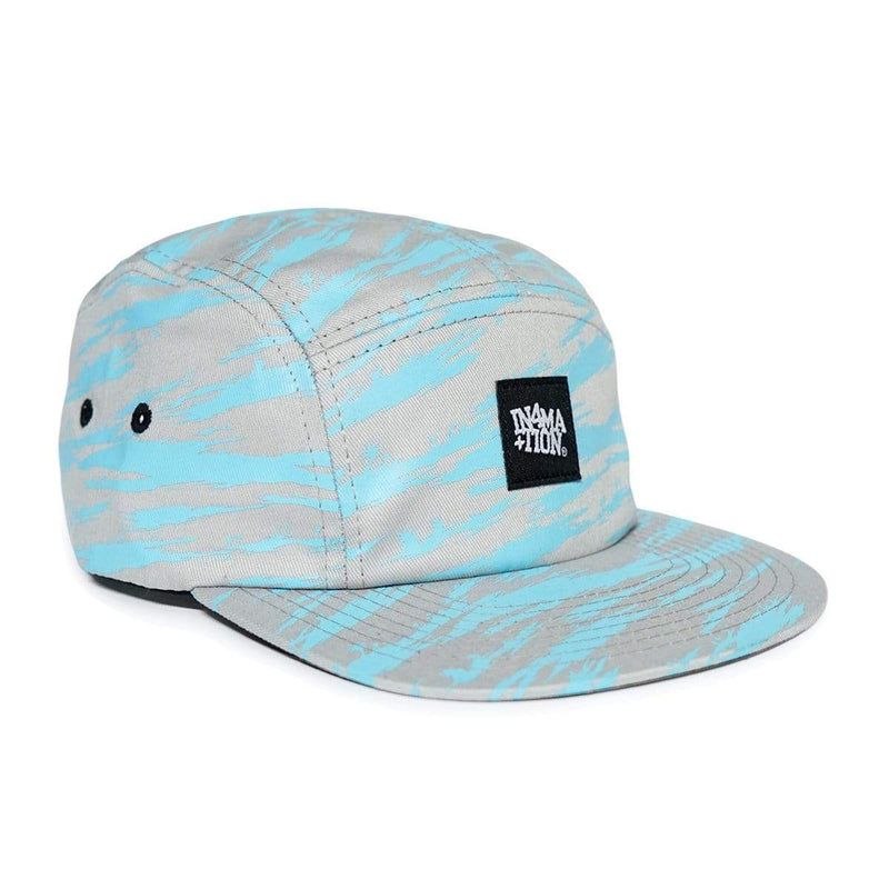 In4mation Hats Light Blue / One Size In4mation Camp Cap - College Tiger Palm