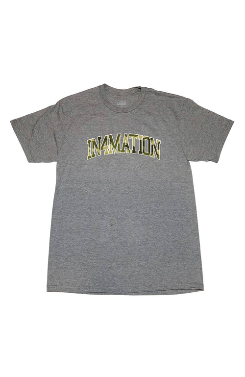 In4mation Men's Shirts Graphite Heather / Small In4mation Tee - Bushwich Arch