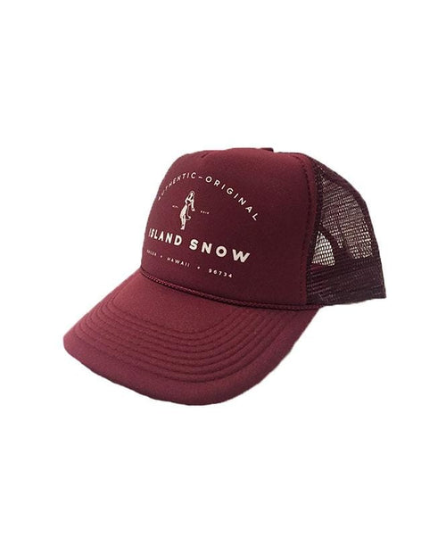 island-snow-hawaii-hats-all-burgundy-one-size-island-snow-hawaii-trucker-is-authentic-front