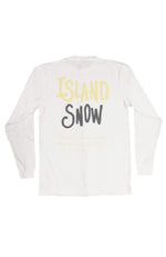 Island Snow Hawaii Island Snow Hawaii Premium Heavyweight Long Sleeve Tee - IS Inspired