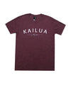 island-snow-hawaii-mens-shirts-triblend-maroon-x-small-island-snow-hawaii-premium-blend-tee-is-kailua-front
