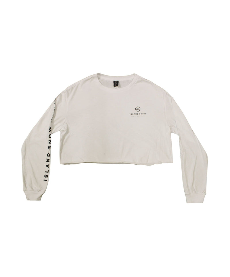 island-snow-hawaii-womens-long-sleeve-shirts-white-small-womens-island-snow-hawaii-long-sleeve-crop-tee-is-back-to-basics-v2-front