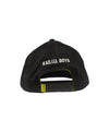 kailua-boys-hats-one-size-black-kailua-boys-sueded-cotton-snapback-hat-kb-caution-back