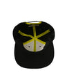 kailua-boys-hats-one-size-black-kailua-boys-sueded-cotton-snapback-hat-kb-caution-under