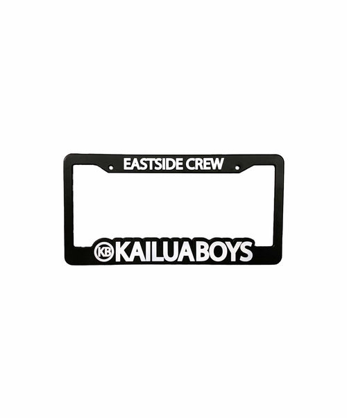 kailua-boys-home-goods-one-size-black-kailua-boys-license-plate-frame-kb-black-front
