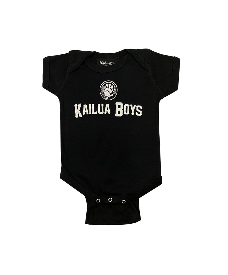 kailua-boys-kids-onesie-black-6-months-kailua-boys-kids-onesie-kb-warrior-front
