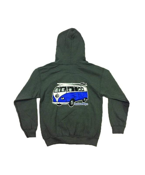 kailua-boys-kids-sweatshirts-charcoal-x-small-kailua-boys-kids-heavyweight-pullover-hoodie-kb-vw-bus-back