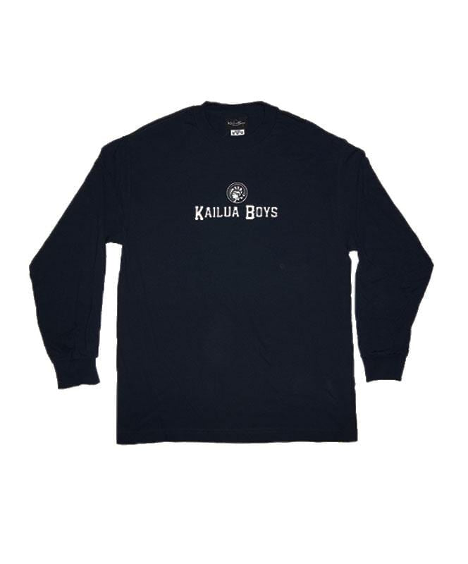 kailua-boys-mens-long-sleeve-shirts-kailua-boys-heavyweight-long-sleeve-tee-kb-warrior-front-navy