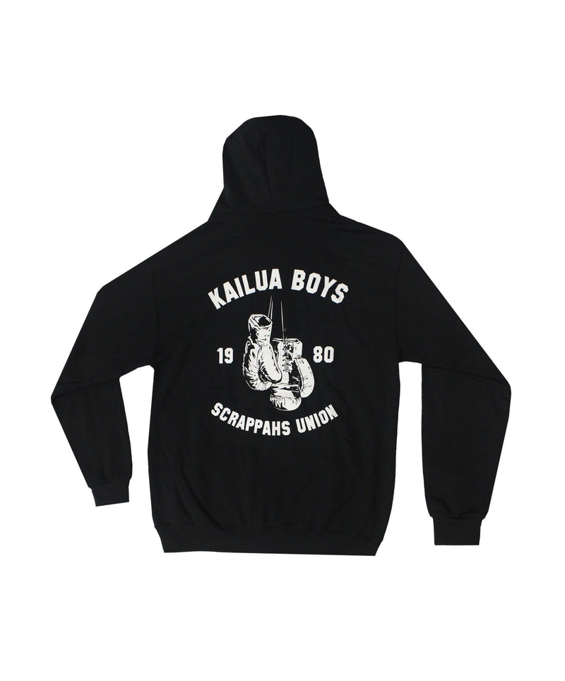 kailua-boys-mens-sweatshirts-small-black-kailua-boys-heavyweight-zip-hoodie-kb-scrappahs-union-back