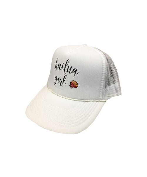 kailua-girls-hats-all-white-one-size-womens-kailua-girls-trucker-hat-kg-sunnie-front