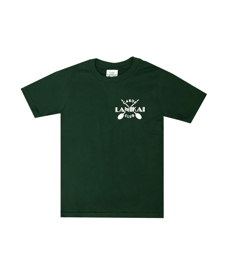 lanikai-canoe-club-kids-shirts-lanikai-canoe-club-kids-basic-tee-lcc-cross-paddles-front-forest-green