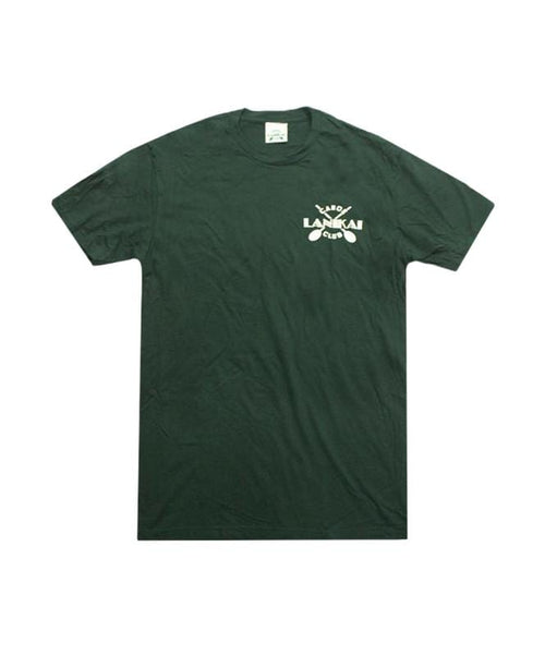 lanikai-canoe-club-mens-shirts-lanikai-canoe-club-basic-tee-lcc-cross-paddles-front-forest-green