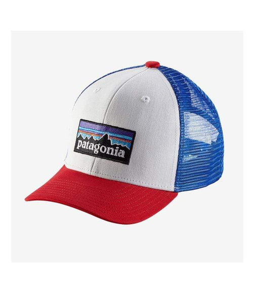 patagonia-kids-accessories-white-one-size-patagonia-kids-trucker-hat-front