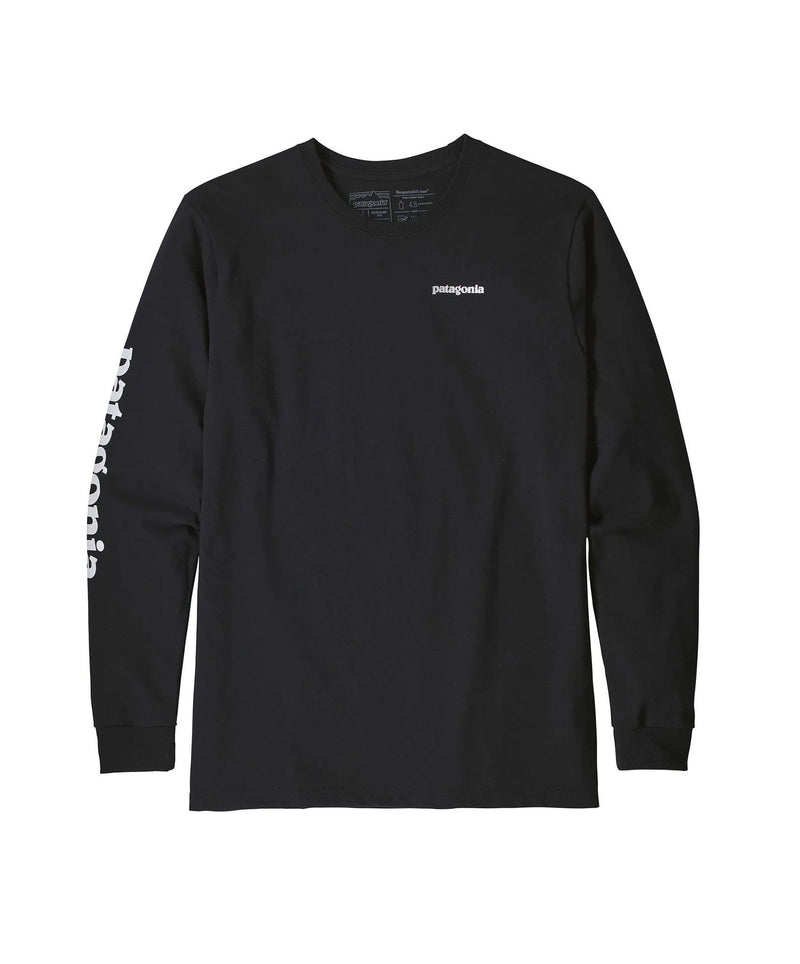 patagonia-men-s-long-sleeve-shirts-small-black-patagonia-long-sleeve-tee-patagonia-text-front