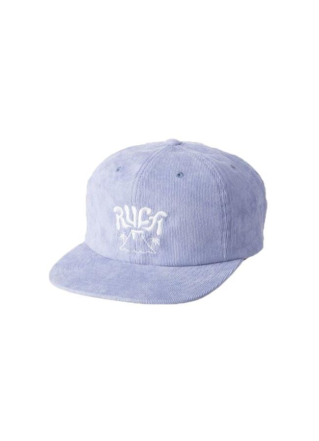 rvca-kids-accessories-blue-one-size-rvca-hawaii-kids-hat-active-front