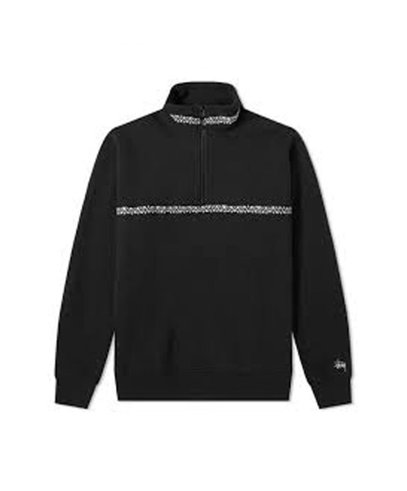 stussy-mens-sweatshirts-small-black-stussy-mock-neck-woven-tape-front