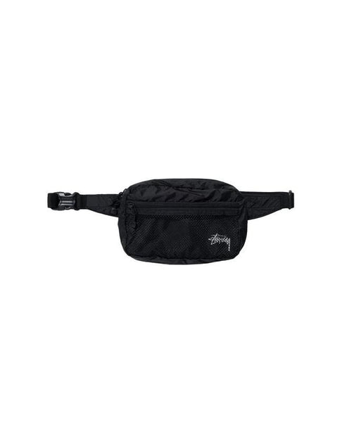 stussy-wallets-black-one-size-stussy-waist-bag-lightweight-front