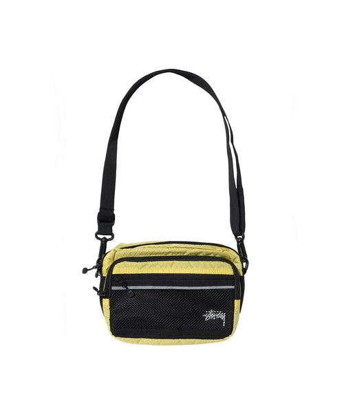 stussy-wallets-one-size-lime-stussy-shoulder-bag-diamond-ripstop-front