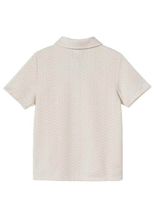 stussy-womens-shirts-women-s-button-up-shirt-tonal-jacquard-poly-knit-back-white