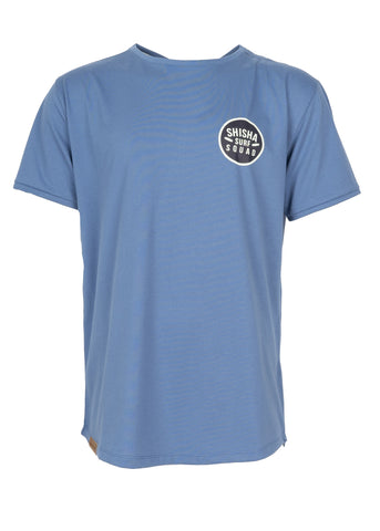 Teeshirt LOOCKER Blue/White