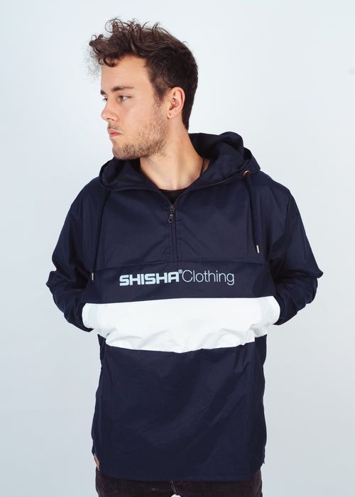 Windbreaker NOORDER Navy/White/Navy