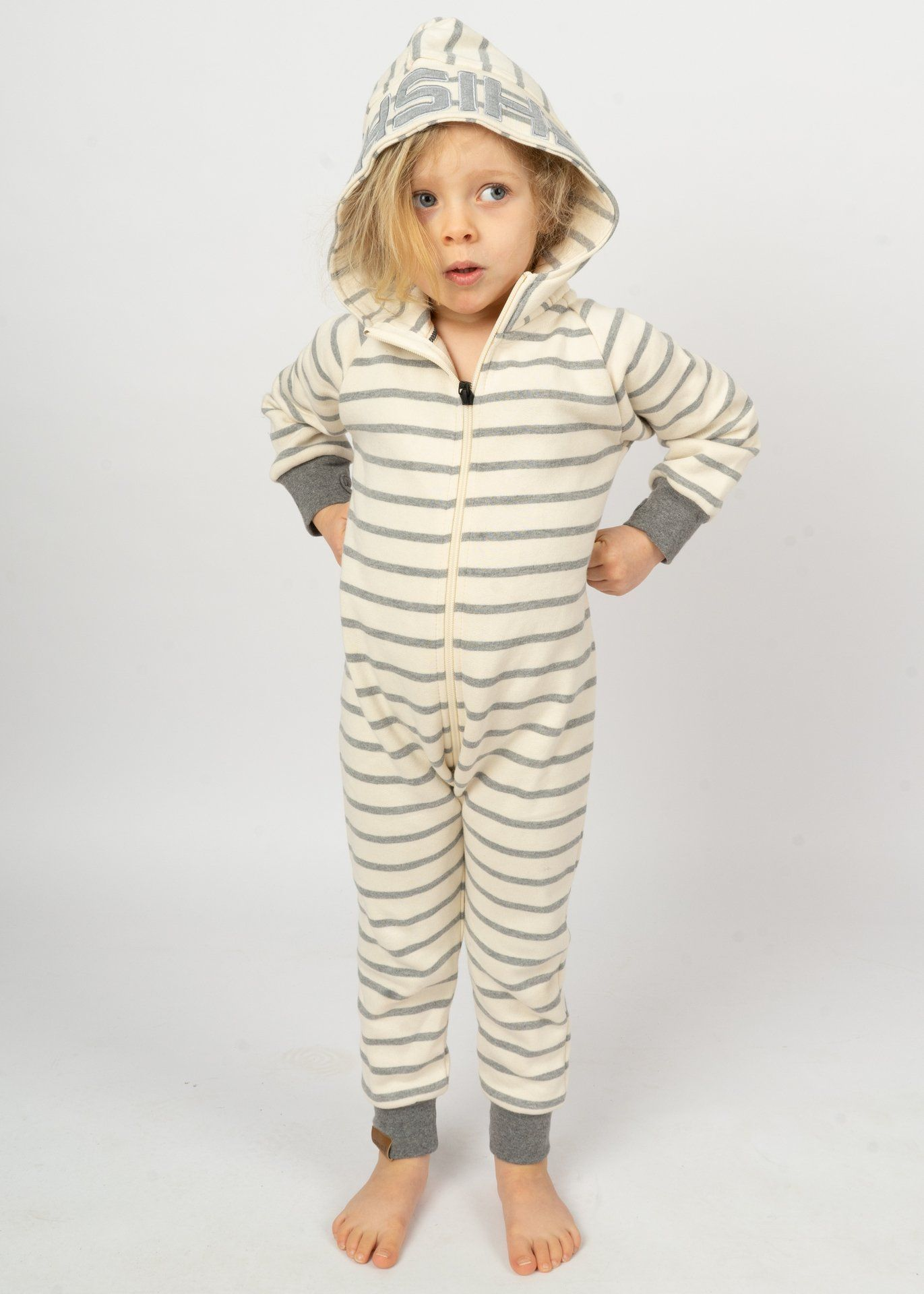 Jumpsuit BOJE Mini GreyStriped