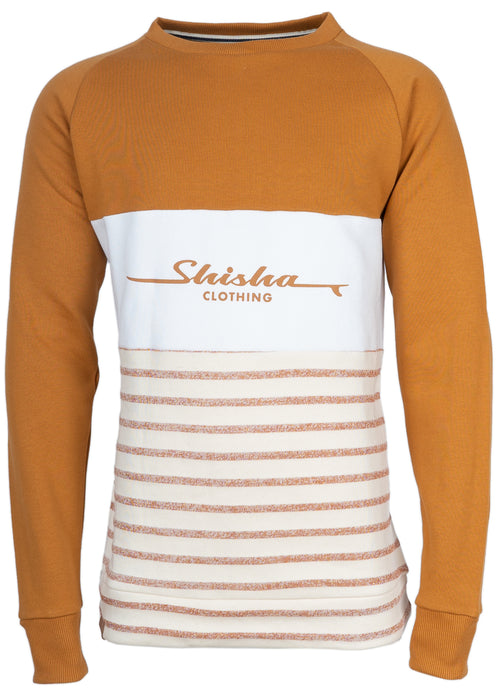 Sweater ZEEN SudanBrown/OrangeStriped