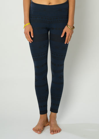 Leggings LOOVIG BlackBlack