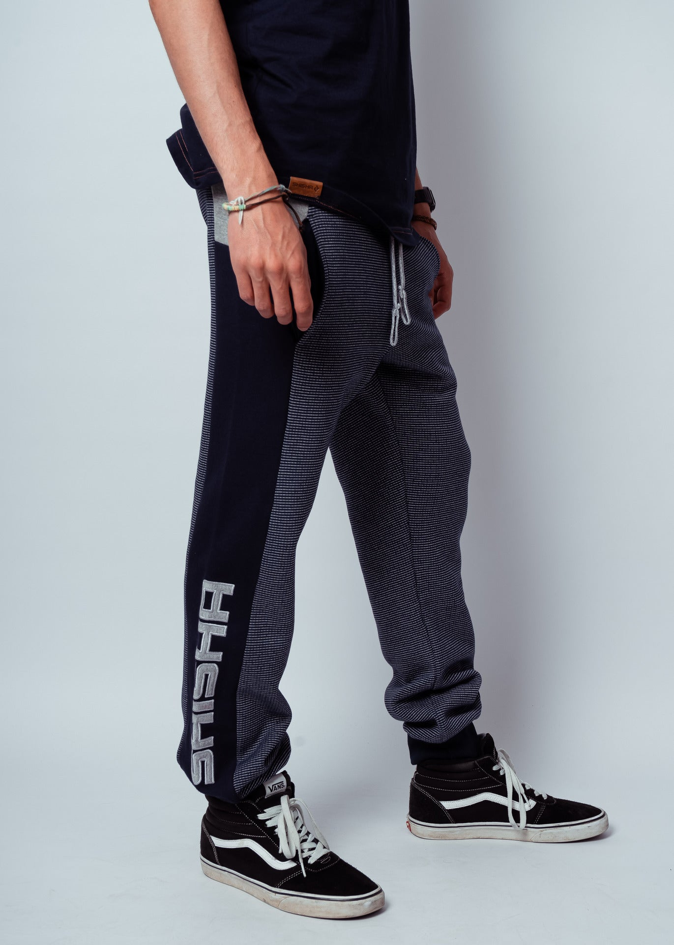 Pant MACK BlueStriped/Ash/Navy