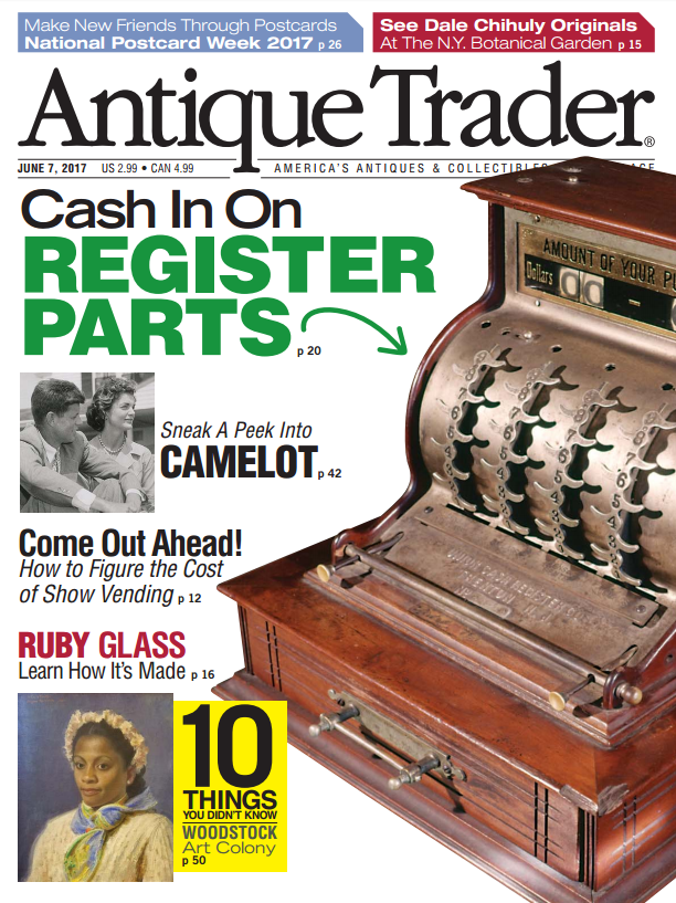 ThirdShift Vintage in Antique Trader Magazine