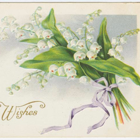 "Digital Download ""Best Easter Wishes"" Easter Postcard (c.1917) - Instant Download Printable - ThirdShift Vintage"