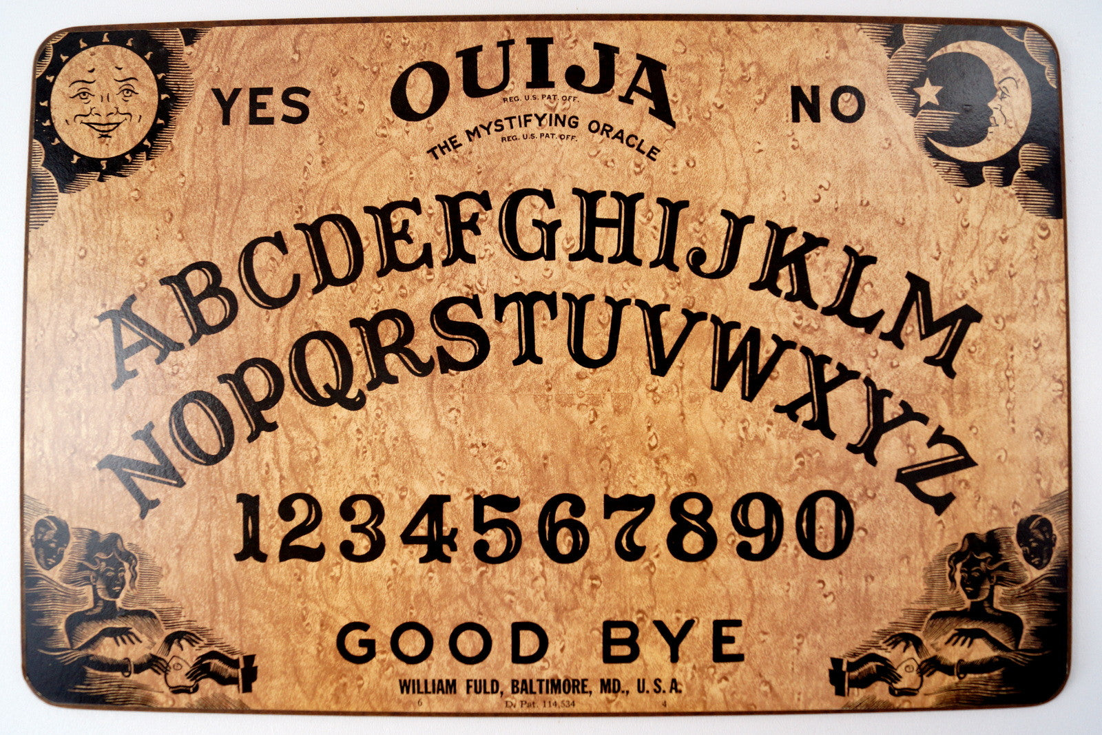 Vintage Original Ouija Board by William Fuld (c.1930,40s) N1