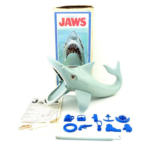 "Vintage ""The Game of Jaws"" Shark Game from Ideal (c.1975) - ThirdShiftVintage.com"
