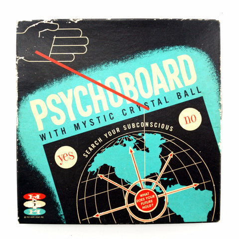 Vintage Psychoboard with Mystic Crystal Ball by Happy Hour Inc. (c.1957) - ThirdShift Vintage