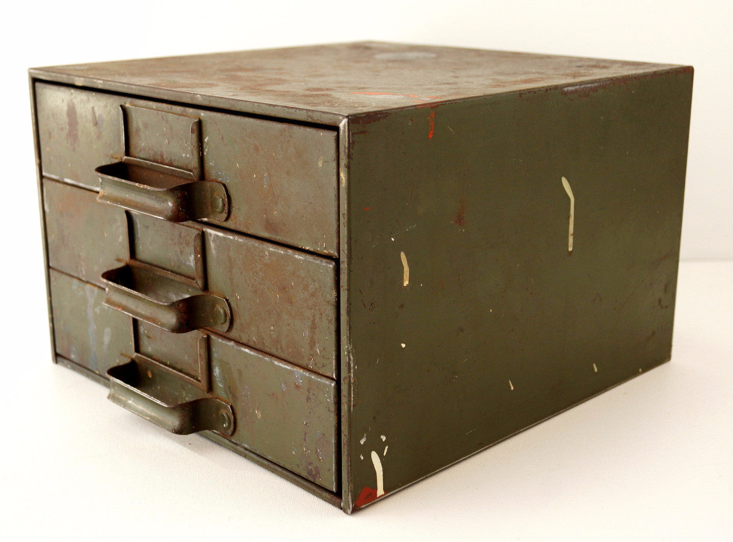industrial furniture hardware. Industrial Furniture Hardware. ThirdShiftVintage Vintage Hardware Cabinet Parts Bin With 3 Drawers (c S